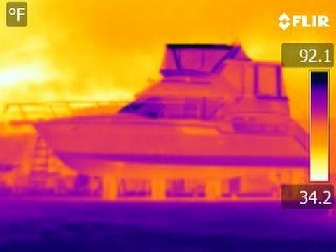 Carver 355 Infrared Hull Inspection Video by South Mountain Yachts