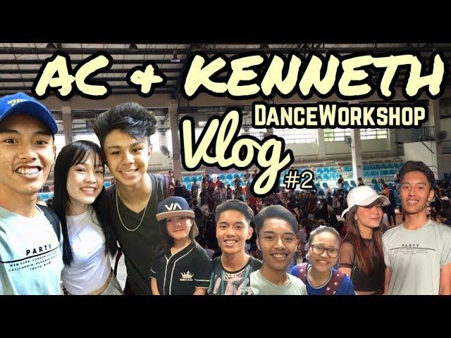AC BONIFACIO & KENNETH SAN JOSE DANCEWORKSHOP VLOG #2!! ft. Nhikzy Calma // JL Sarmiento