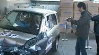 Краш-тест и видео краш-тест Daihatsu Terios (Daihatsu Териос)