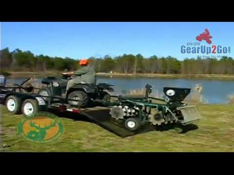Plotmaster Planting Machine For Your ATV Or UTV- Make Planting Your Food Plots Easy And Cheap!