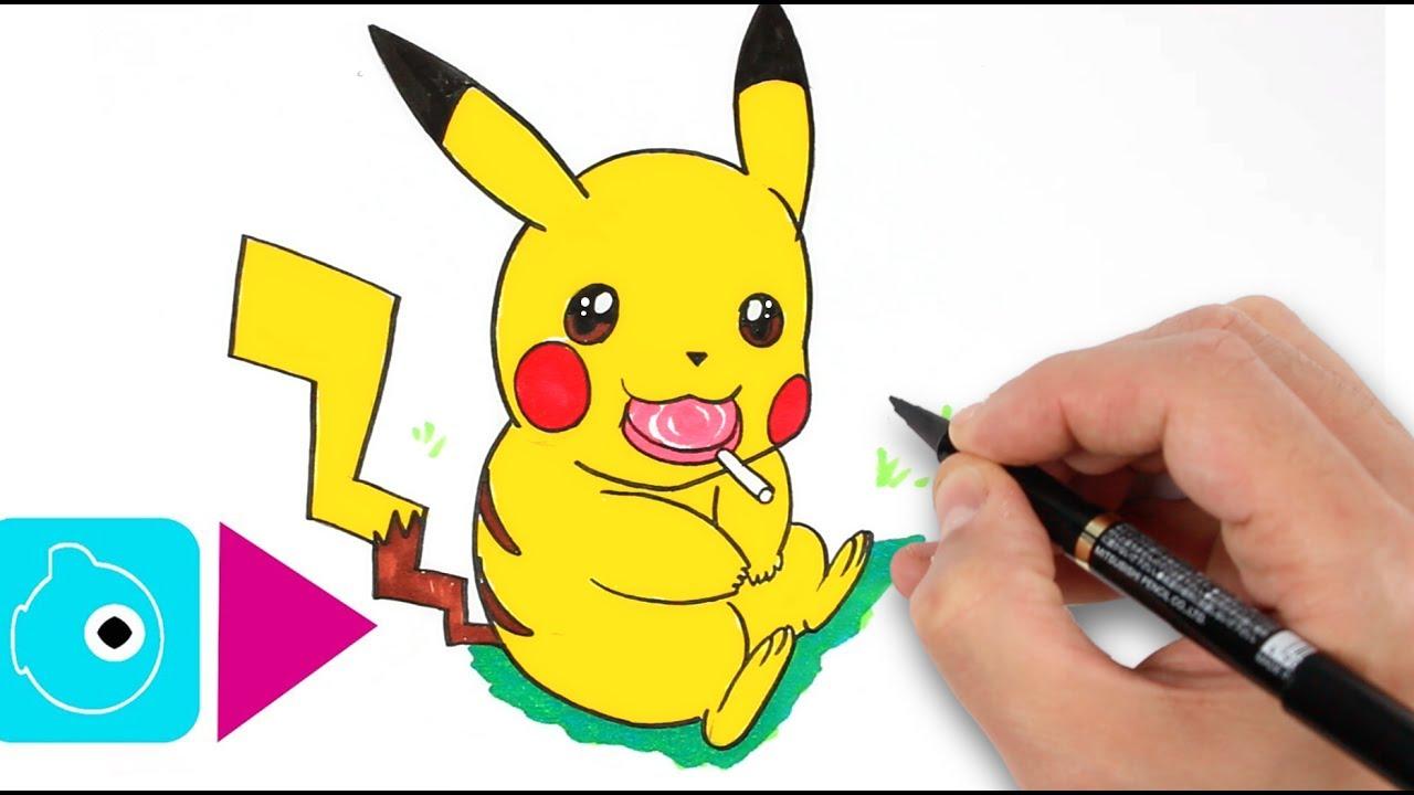 Comment dessiner pikachu 2 apprendre dessiner - Apprendre a dessiner pokemon ...