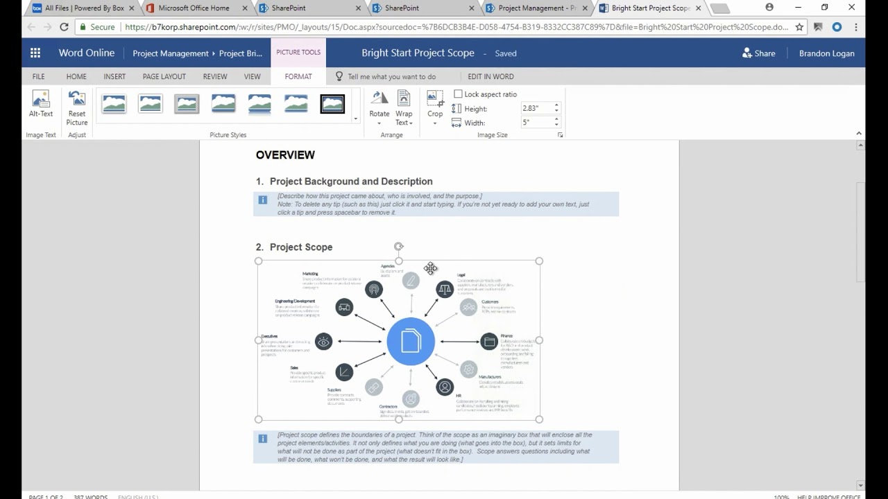 Demo: How to use Box with Microsoft Office 365