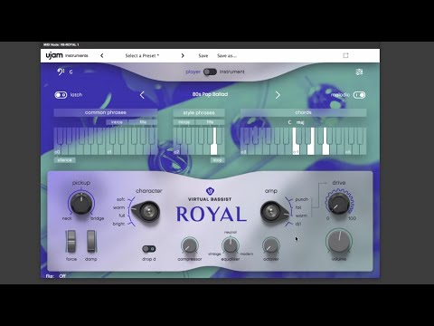 KVR: Virtual Bassist Royal by UJAM Instruments - Bass VST