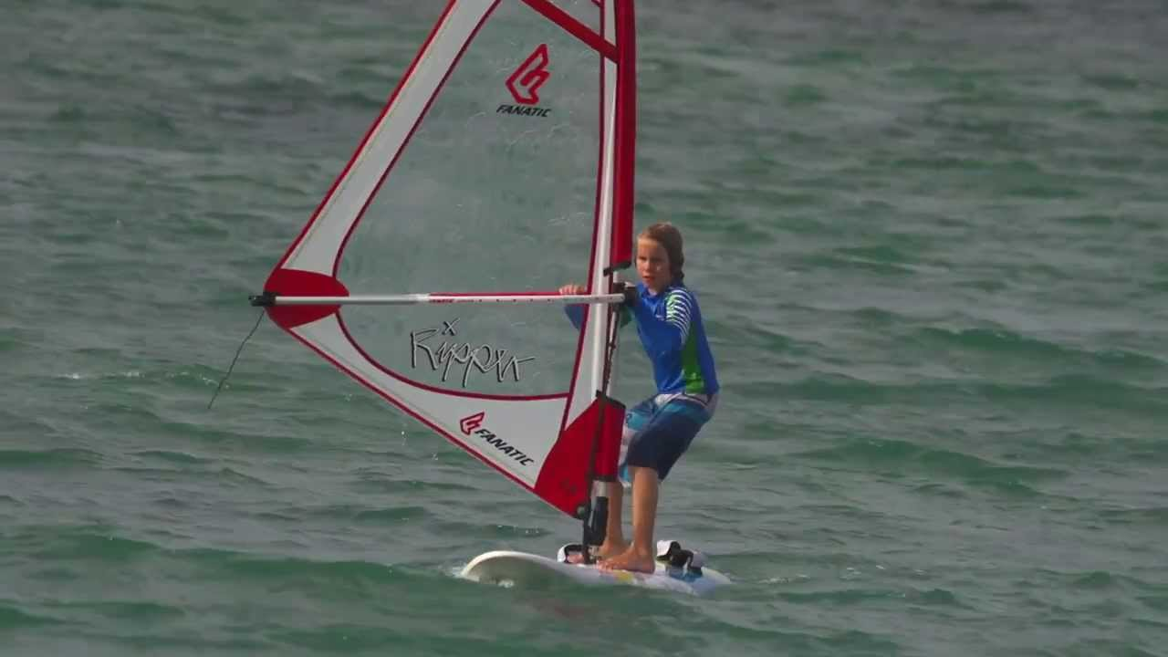 Fanatic Kids Ripper Windsurfing 2014 Youtube
