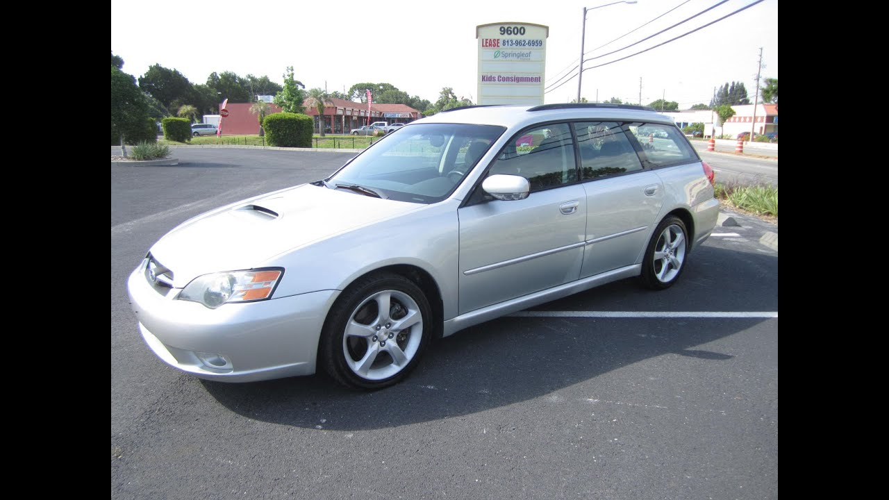 Sold 2005 subaru legacy gt 2 5 turbo ej255 meticulous motors inc florida for sale youtube