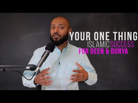 Success in Islam: The One Thing