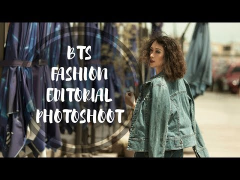 VLOG 9 || Behind the Scenes - Fashion Editorial Photoshoot