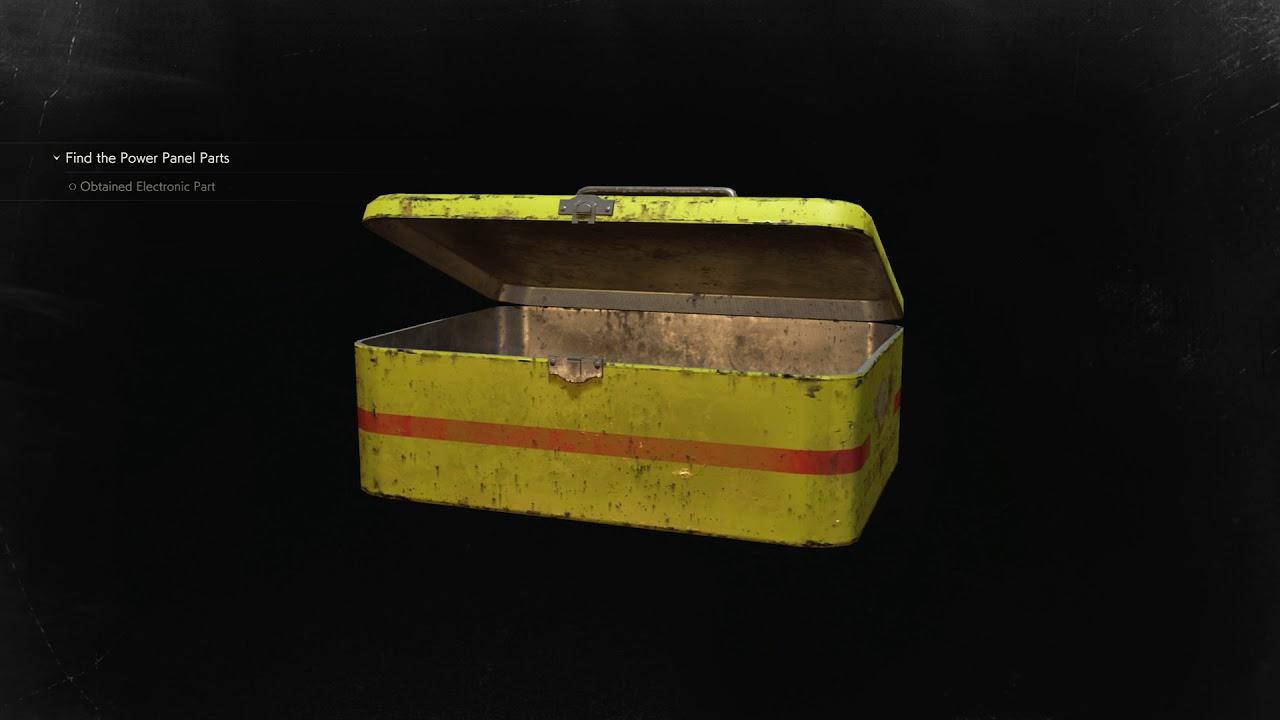 Resident Evil 2 Police Station Leon A Waiting Room Examine Tin Storage Box Car Key 7439 2019