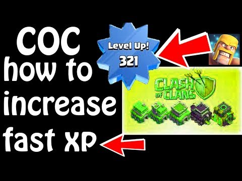 (HINDI) how to increase fast xp in clash of clans