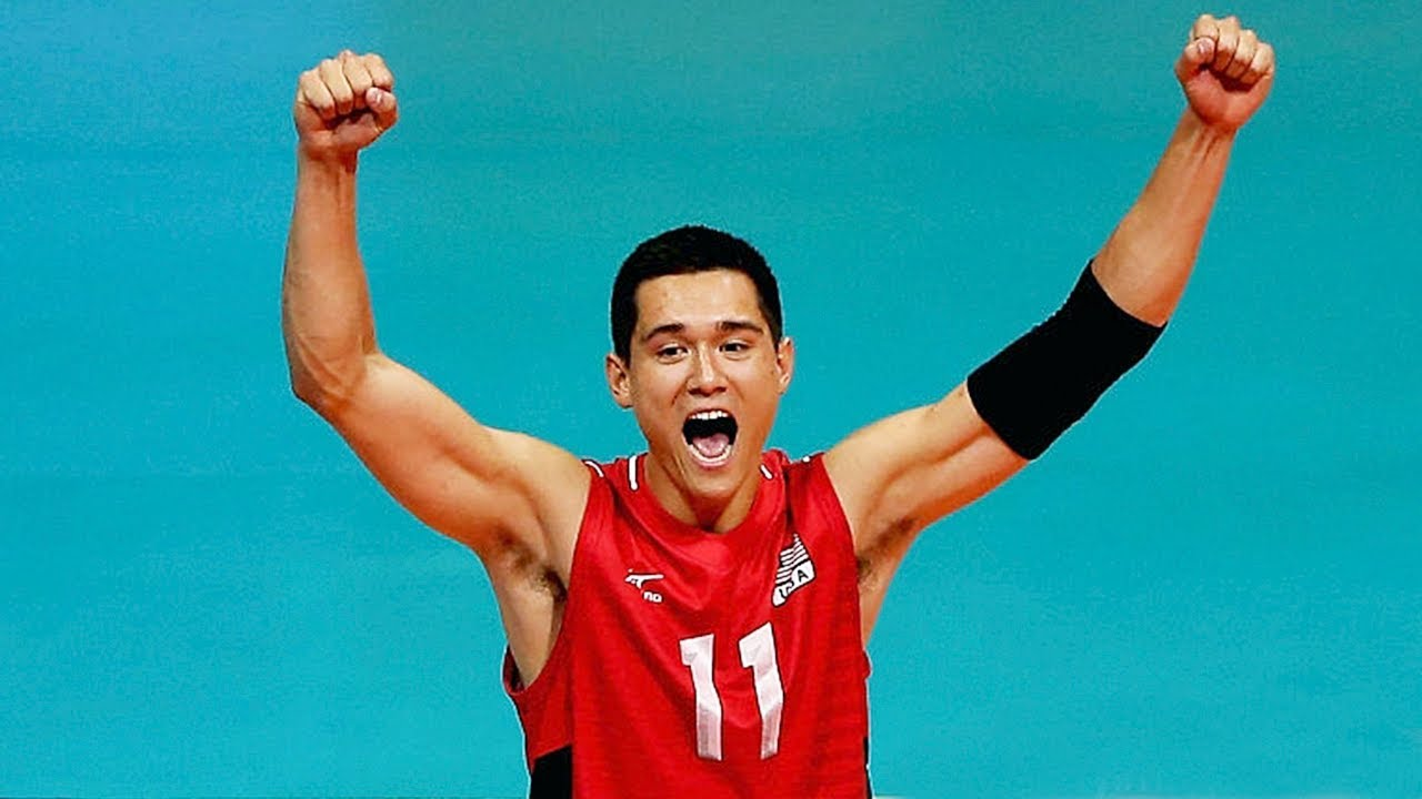 The Best Volleyball Setter In The World Micah Christenson 2017 Fivb Volleyball World League Youtube