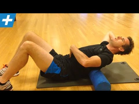 Foam roller thoracic spine extension movement and mobility | Feat. Tim Keeley | No.26 | Physio REHAB