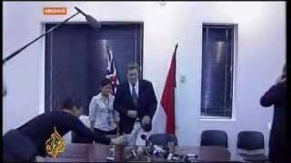 Rival leaders meet in Cyprus - 1 July 2008