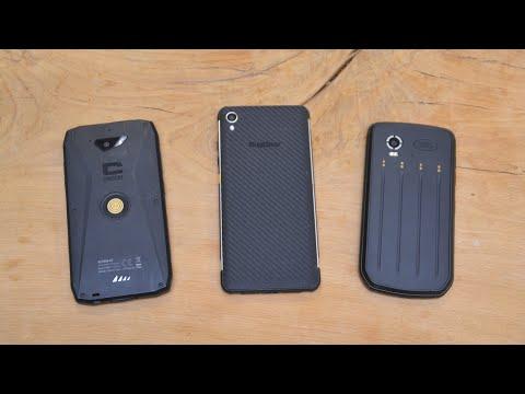 Robuuste smartophones: RugGear RG850 vs Landrover Explore vs Crosscall Action X3