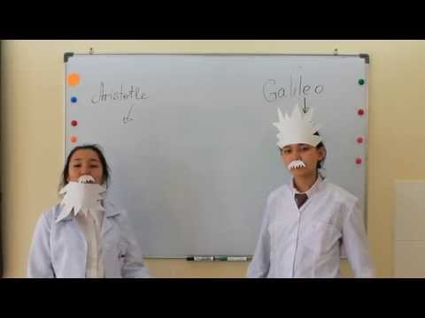 NIS Almaty: Galileo's Law of Falling Bodies