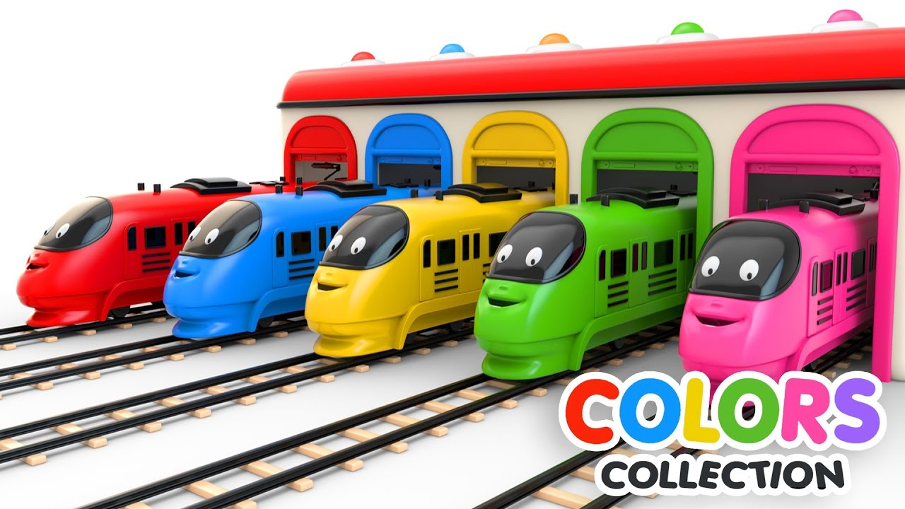 colors for children to learn with toy trains colors videos collection youtube. Black Bedroom Furniture Sets. Home Design Ideas