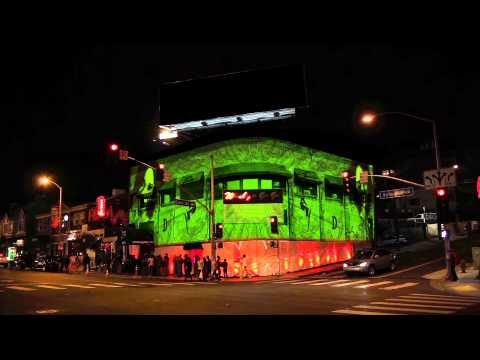 DARNAA EXTERIOR PROJECTION ON WHISKY A GO GO