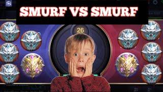 Video RANK SMURF VS SMURF | MOBILE LEGENDS | MOBILE LEGENDS BANG BANG download MP3, 3GP, MP4, WEBM, AVI, FLV April 2018