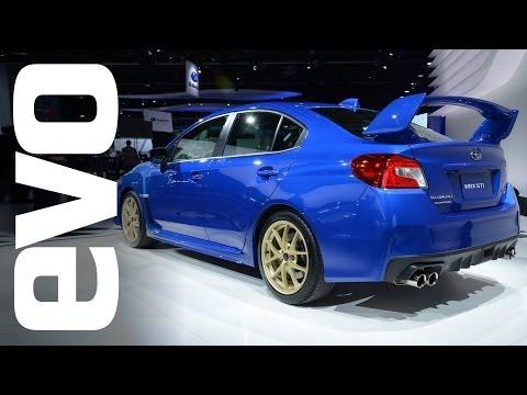 Subaru WRX STi at Detroit 2014 | evo MOTOR SHOWS
