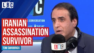 Survivor of Iranian assassination attempt tells his incredible story   watch live on LBC