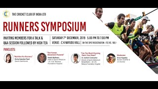 CCI Runner's Symposium - Nutrition For Runners