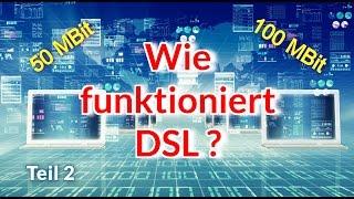 Wie funktioniert DSL ? Teil 2: Mit 100 MBit übern Telefondraht !