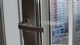 Ремонт пластиковых окон. Установка гребенки под ручку(, 2013-11-03T18:03:37.000Z)
