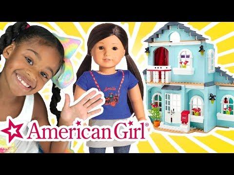 American Girl Sleepover! Ag Doll Play Construction Playset