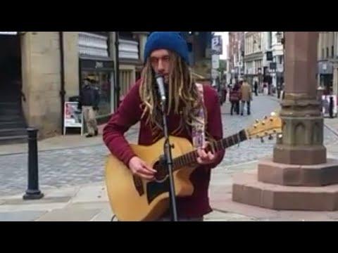 Busker --Joel Anthony - Amazing Singer.