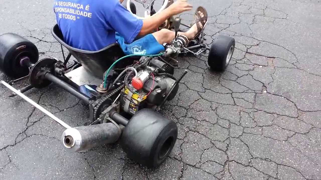 Kart motor de biz 100 - YouTube