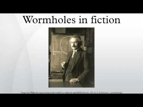 Wormholes in fiction