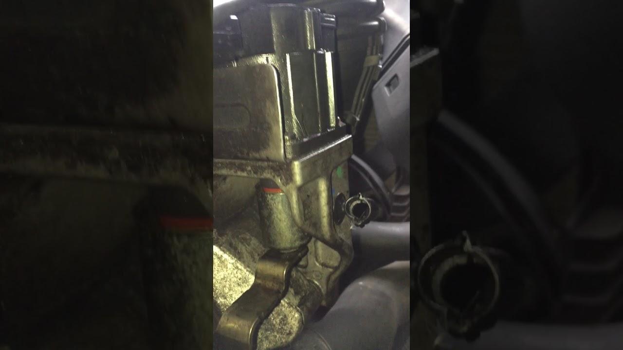 320d n47 turbo/turbo actuator fault
