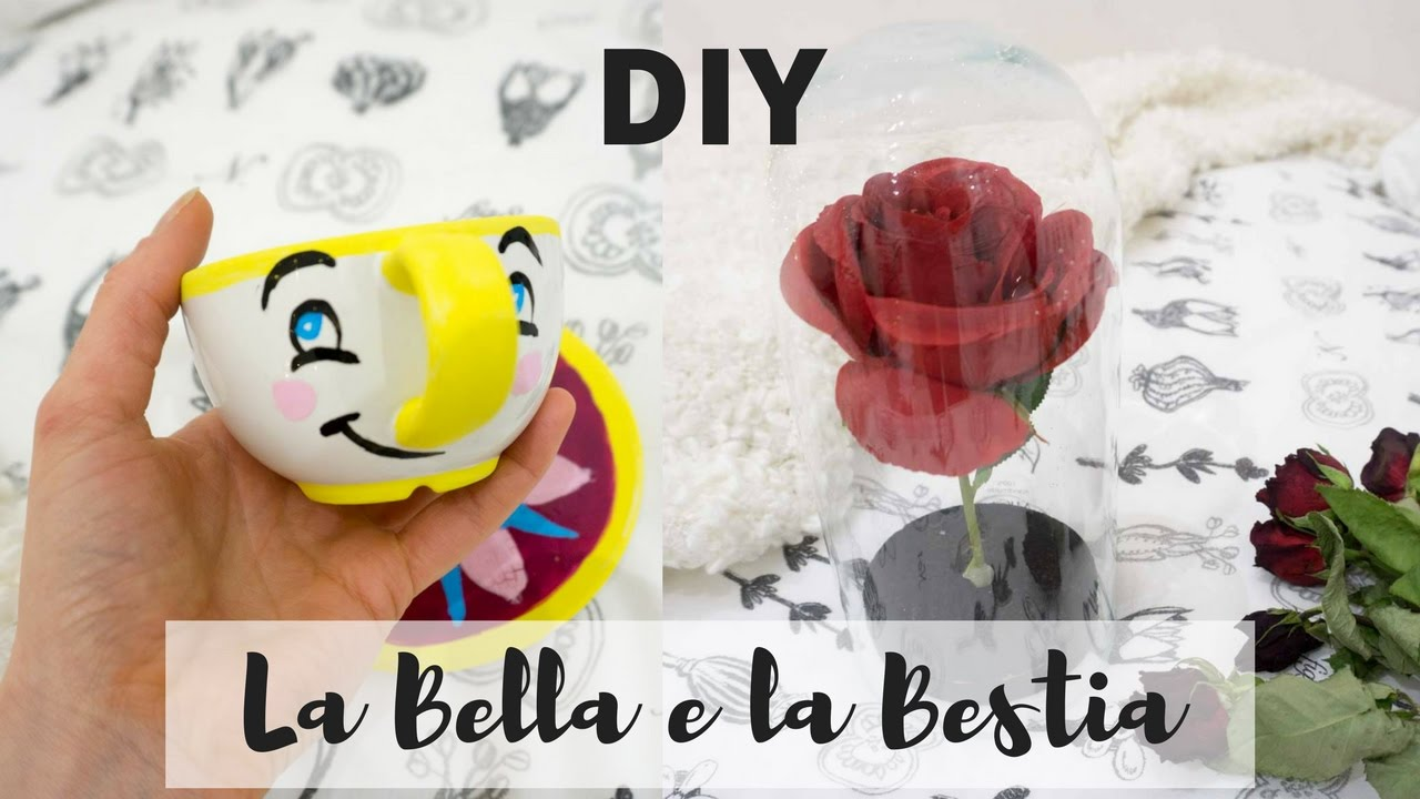 Diy la bella e la bestia youtube for Decorazioni torte la bella e la bestia
