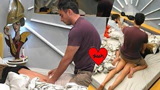 MASSAGGIO HOT DI NICOLA PISU A SOLEIL SORGE, CHE SUCCEDE? #GFVIP