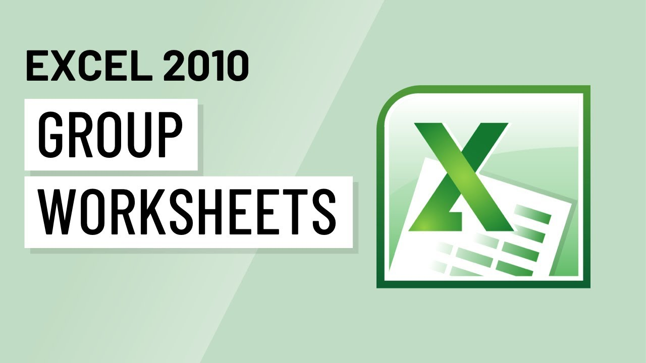 worksheet Grouping Worksheets In Excel excel 2010 grouping worksheets youtube worksheets