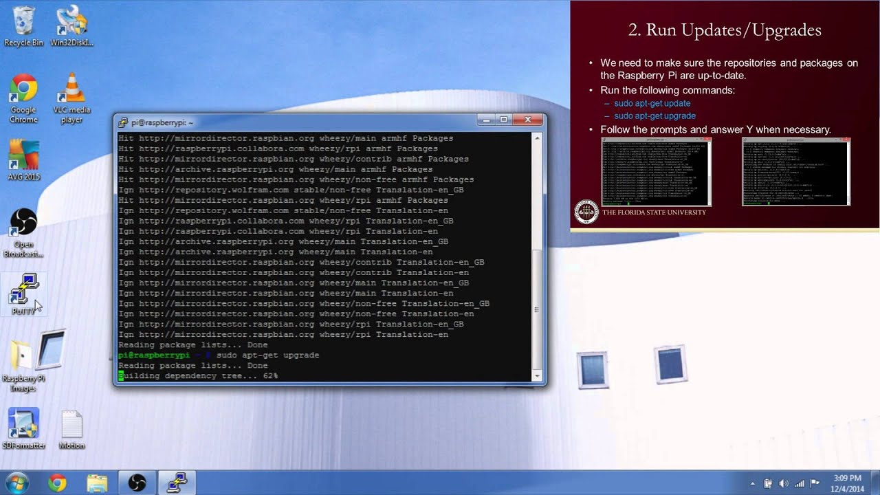 Raspberry Pi: Installing Motion