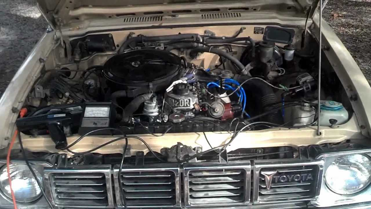 Toyota Truck 2wd 1980 20r Tune Up