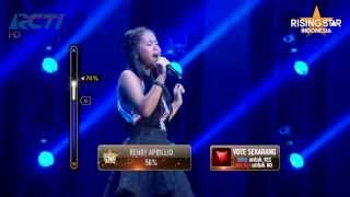"Hanin Dhiya ""Unconditionally"" Katy Perry - Rising Star Indonesia Best 14 Eps 15"