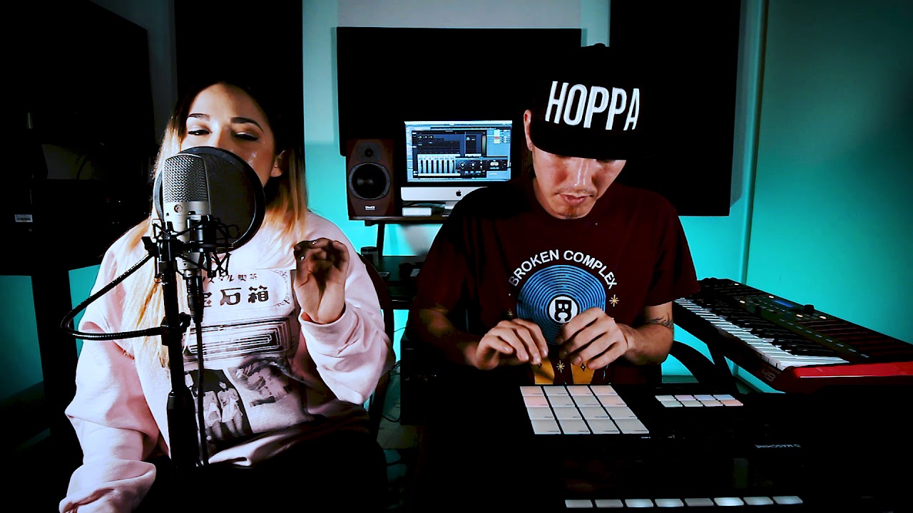 Gavlyn & DJ Hoppa - Beats In The Guest Room ep. 6 (Live Beatmaking and Rapping)
