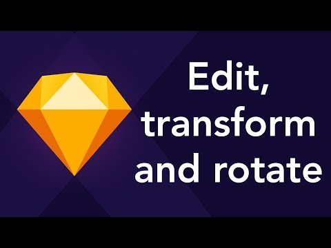 Edit, Transform and Rotate Objects in Sketch App