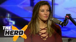 Miesha Tate on Rousey retirement rumor and more | THE HERD (FULL INTERVIEW)