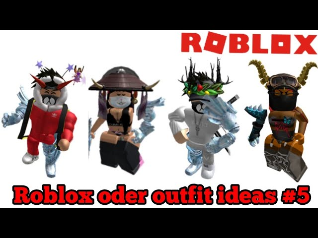 Roblox Oder Outfit Ideas 5 2018 2019 Version Read