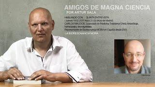 Amigos de Magna Ciencia (V). Carlos Maudos. Biomagnetista y homeópata. La biorresonancia MORA NOVA.
