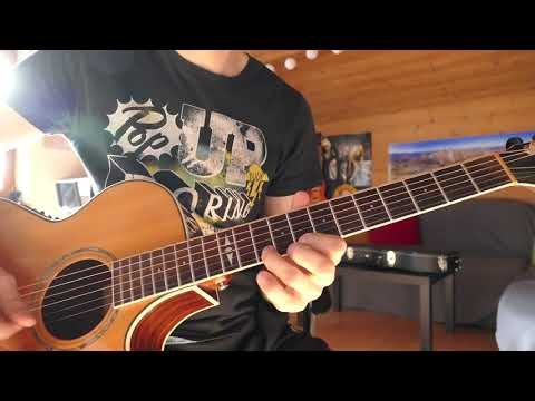 Guns n Roses – One in a Million Solo Cover