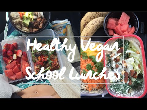 Healthy Filling Vegan School Lunch Recipes & Ideas | Back To School