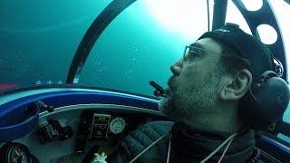 Javier Bardem se sumerge en el océano Antártico