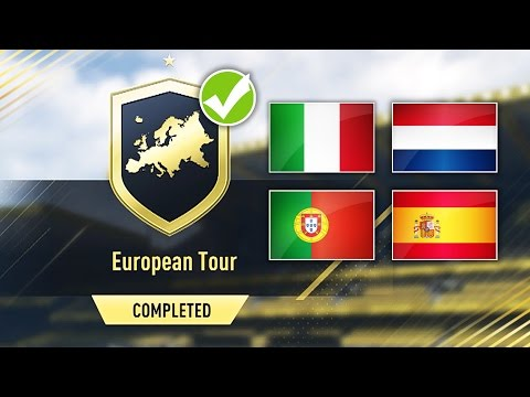 EUROPEAN TOUR SBC *CHEAP AND EASY* COMPLETED! - FIFA 17 SQUAD BUILDING CHALLENGE