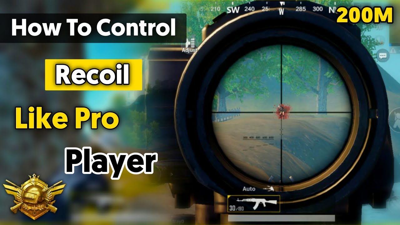 Control Recoil Secret Trick Conqueror Player's Using This Trick | Pubg mobile Hindi