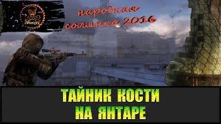 Сталкер Народная солянка 2016 Тайник Кости на Янтаре все места.