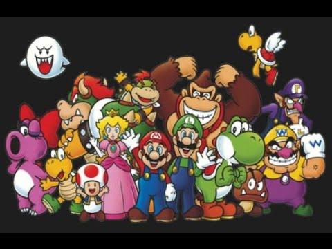 Todos los Personajes de Super Mario Bros - YouTube