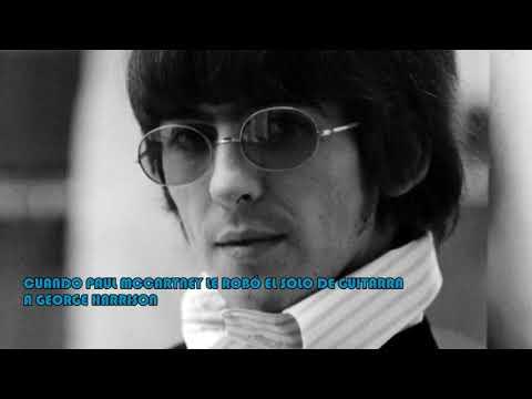 Cuando Paul McCartney le hizo el solo de guitarra a George Harrison music